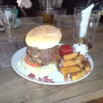 Burger At The Mash Tun