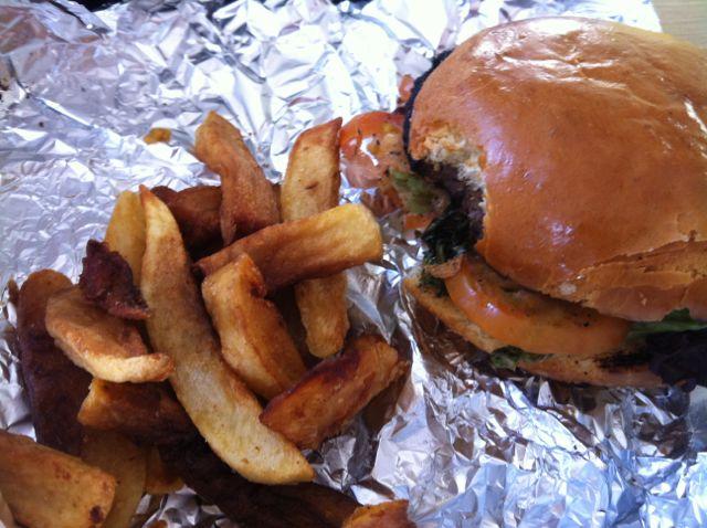 Burger At The Seven Stars