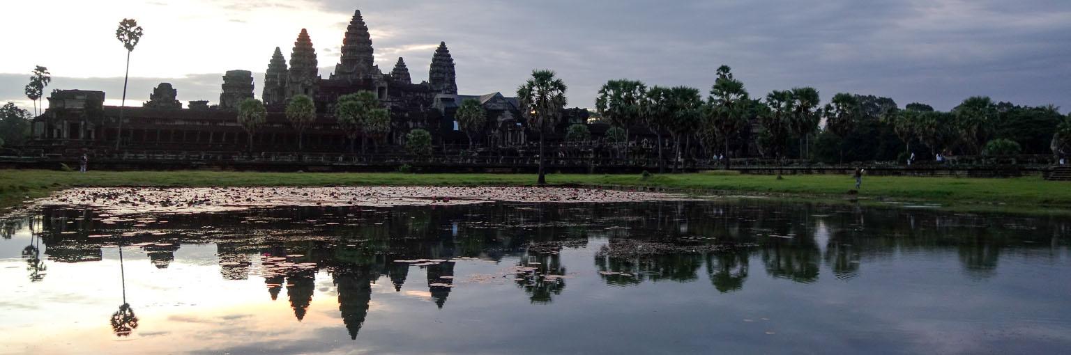 Exploring Angkor Wat 1