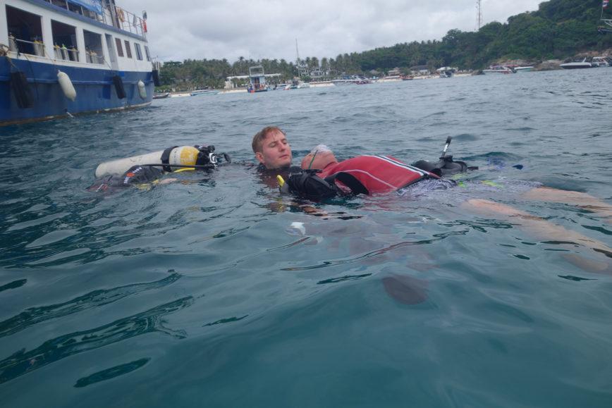 PADI Rescue Diver in Phuket