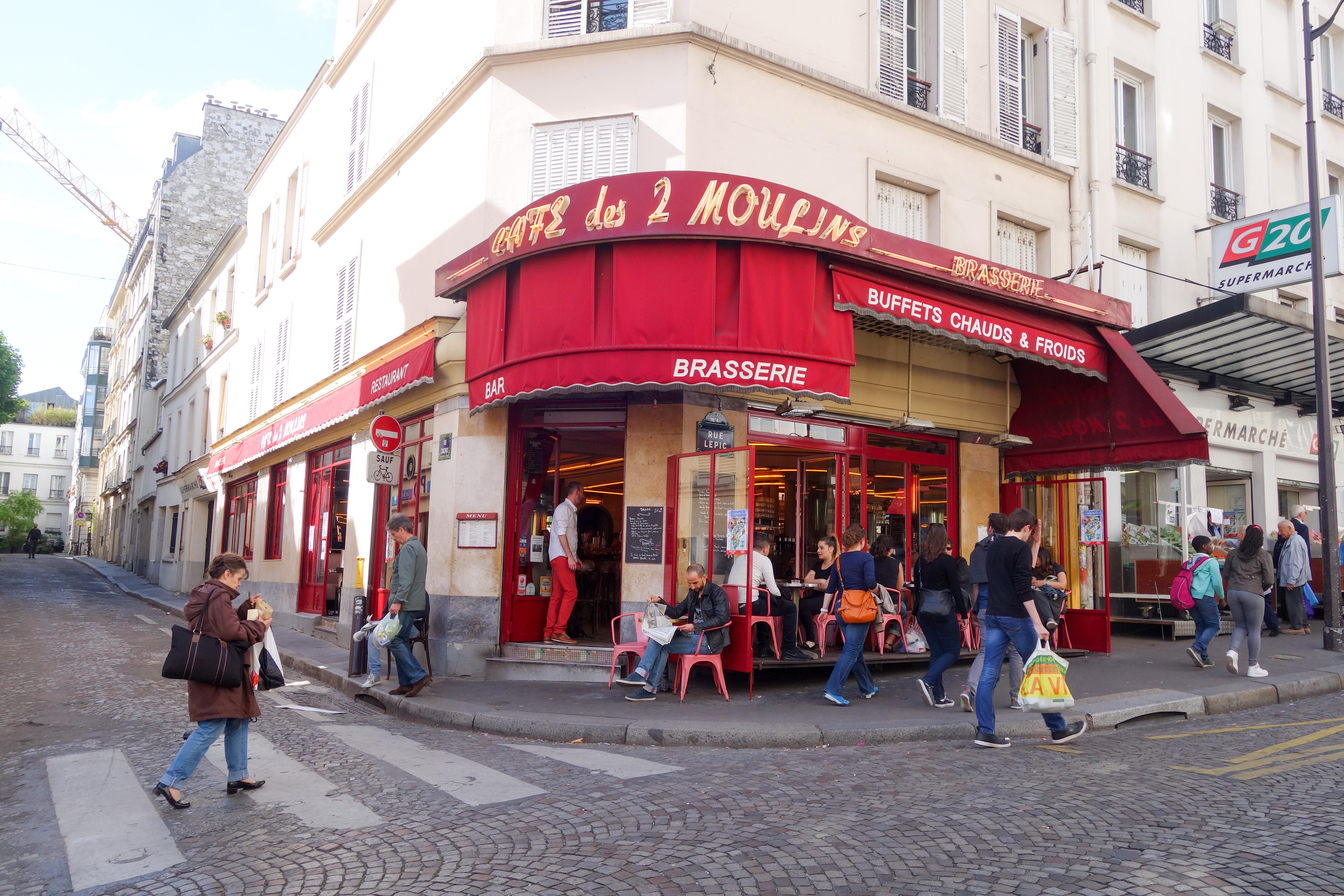 Cafe Des deux Moulins - from the film amelie